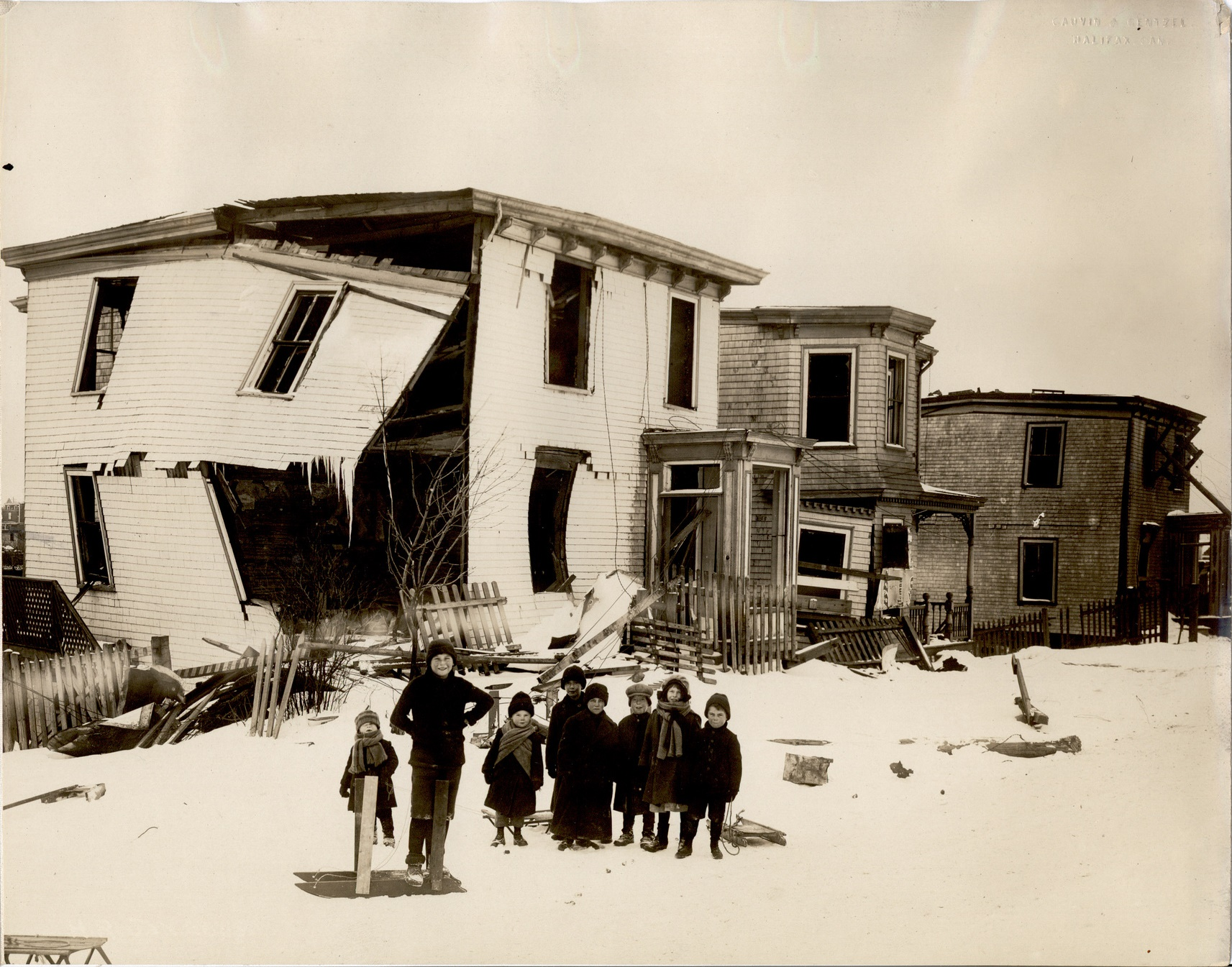 Image for  halifax, n s disaster photograph 78