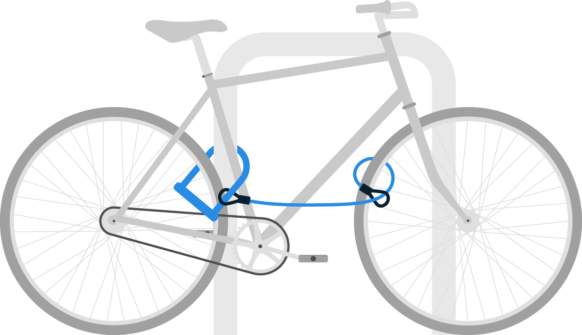 Image for boston by bike lock a bike