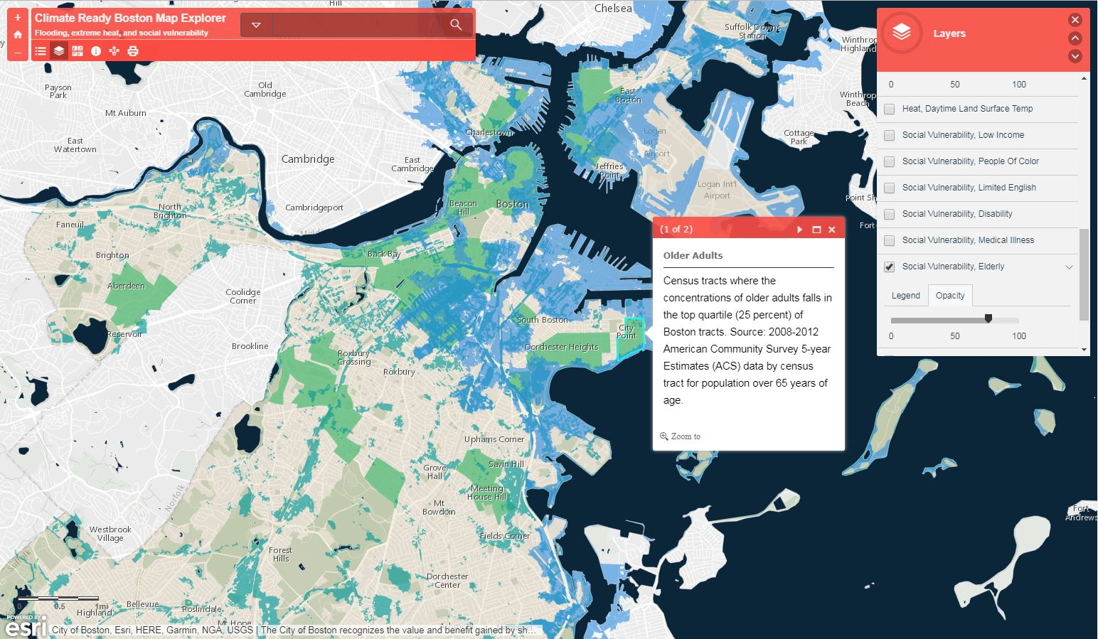 Image for crb map explorer elderly and flooding