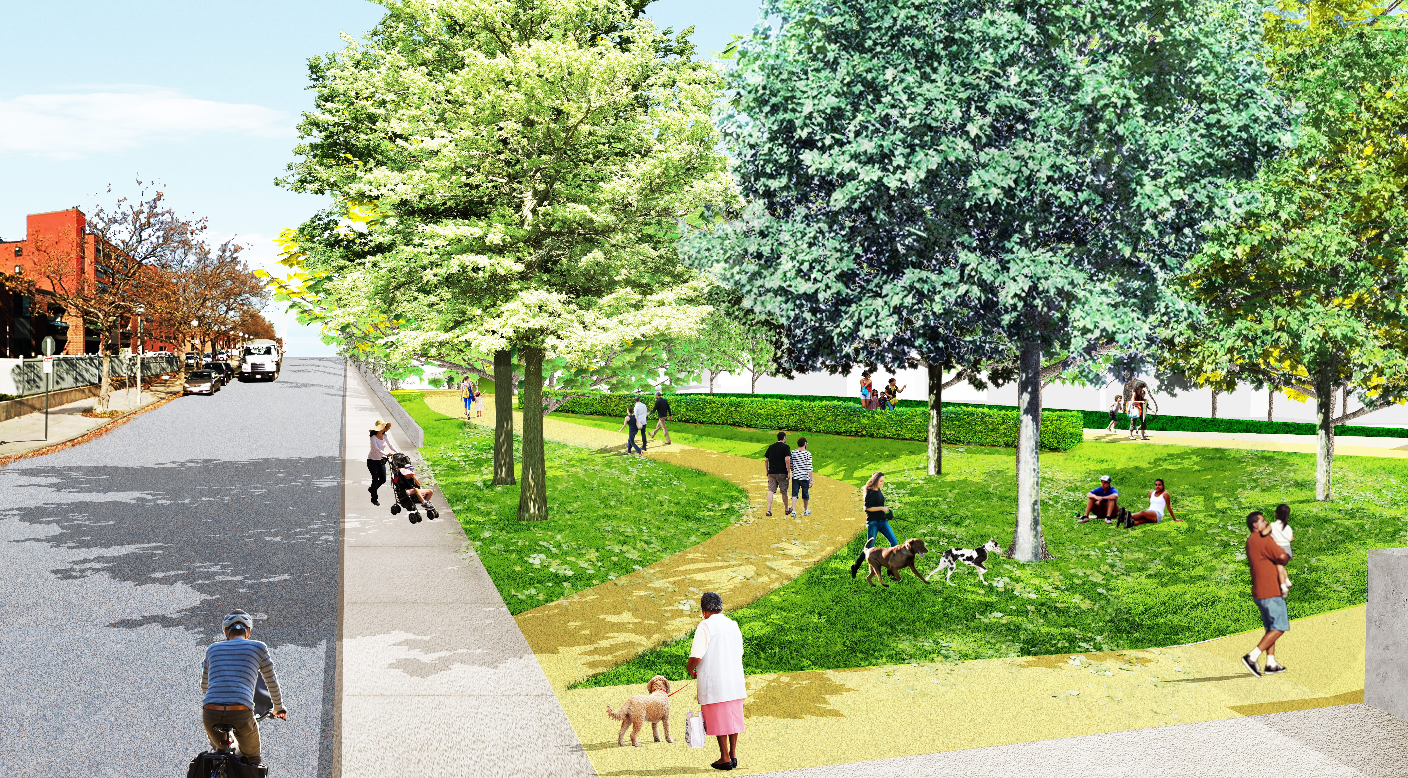 Image for east boston greenway render