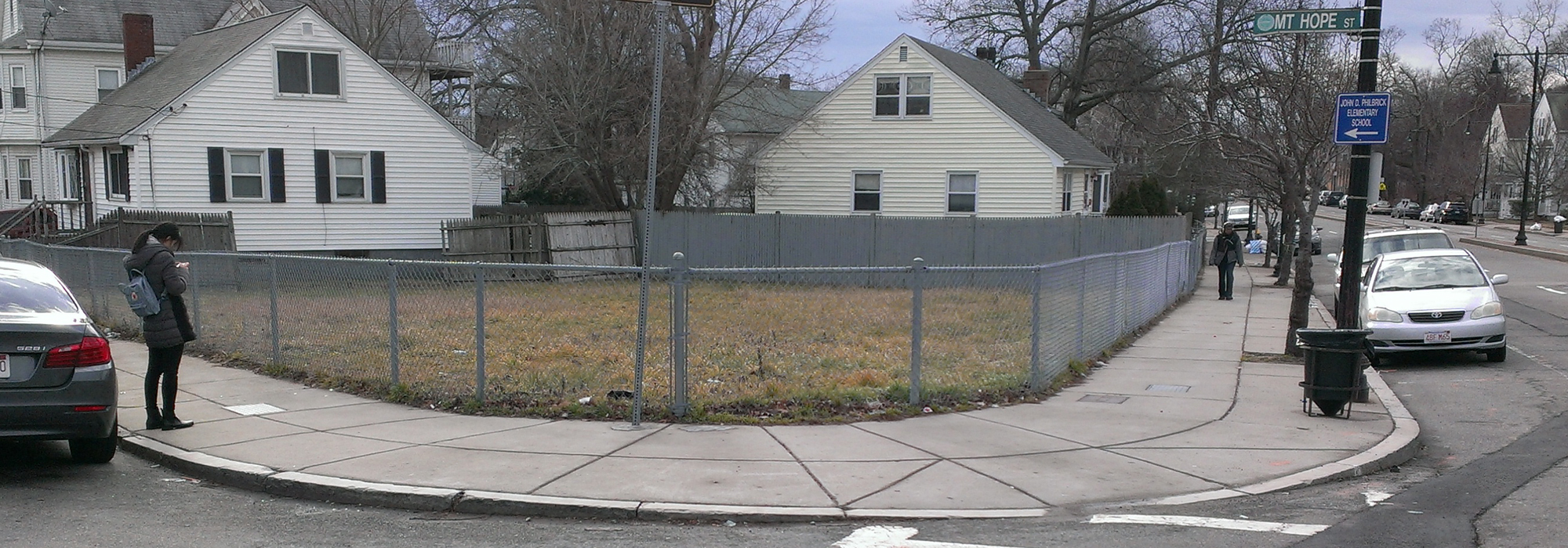 Image for a photo of the mount hope street parcel in roslindale