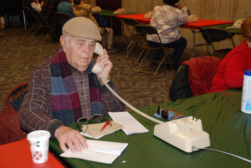 Image for lame prifti, 84, made his call to albania