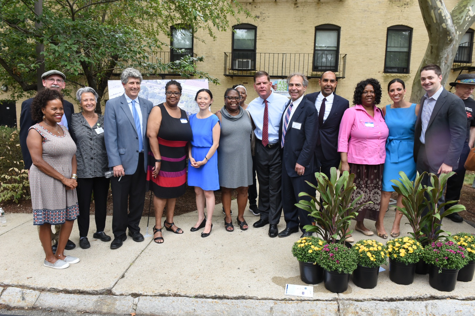 Image for celebration of affordable housing in lower roxbury