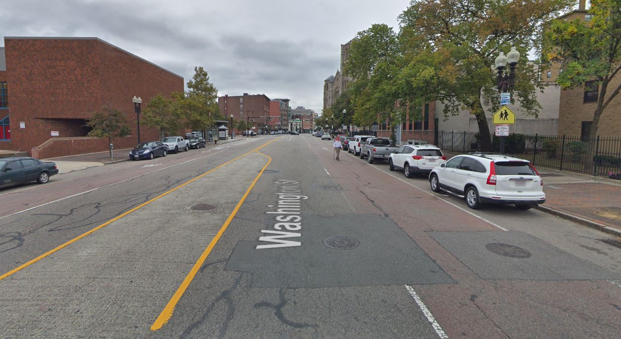 Image for washington street red lanes