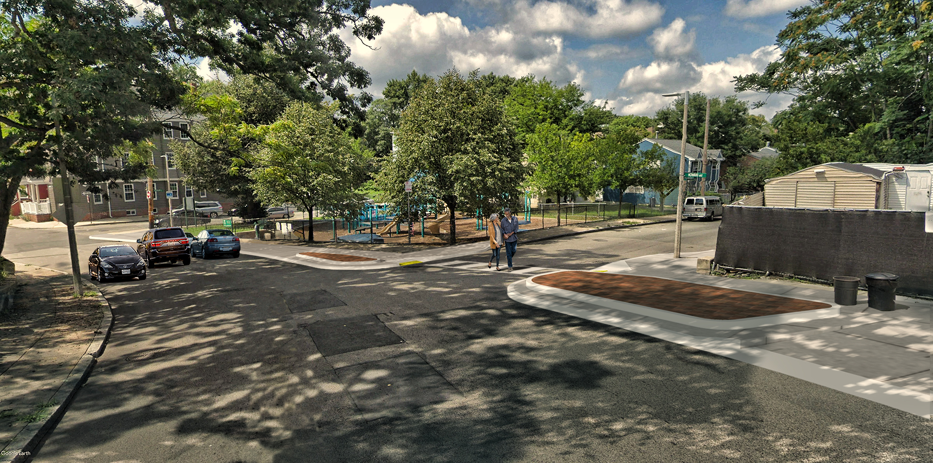 Howard Avenue Tot Lot Redesign
