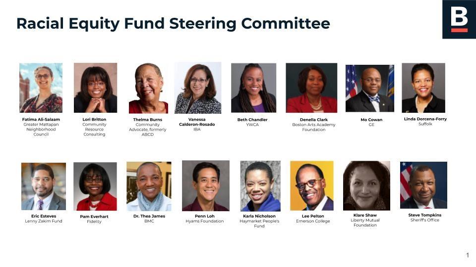 Racial Equity Fund Steering Committee