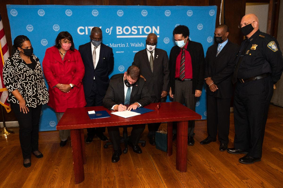 Mayor Walsh signs two executive orders