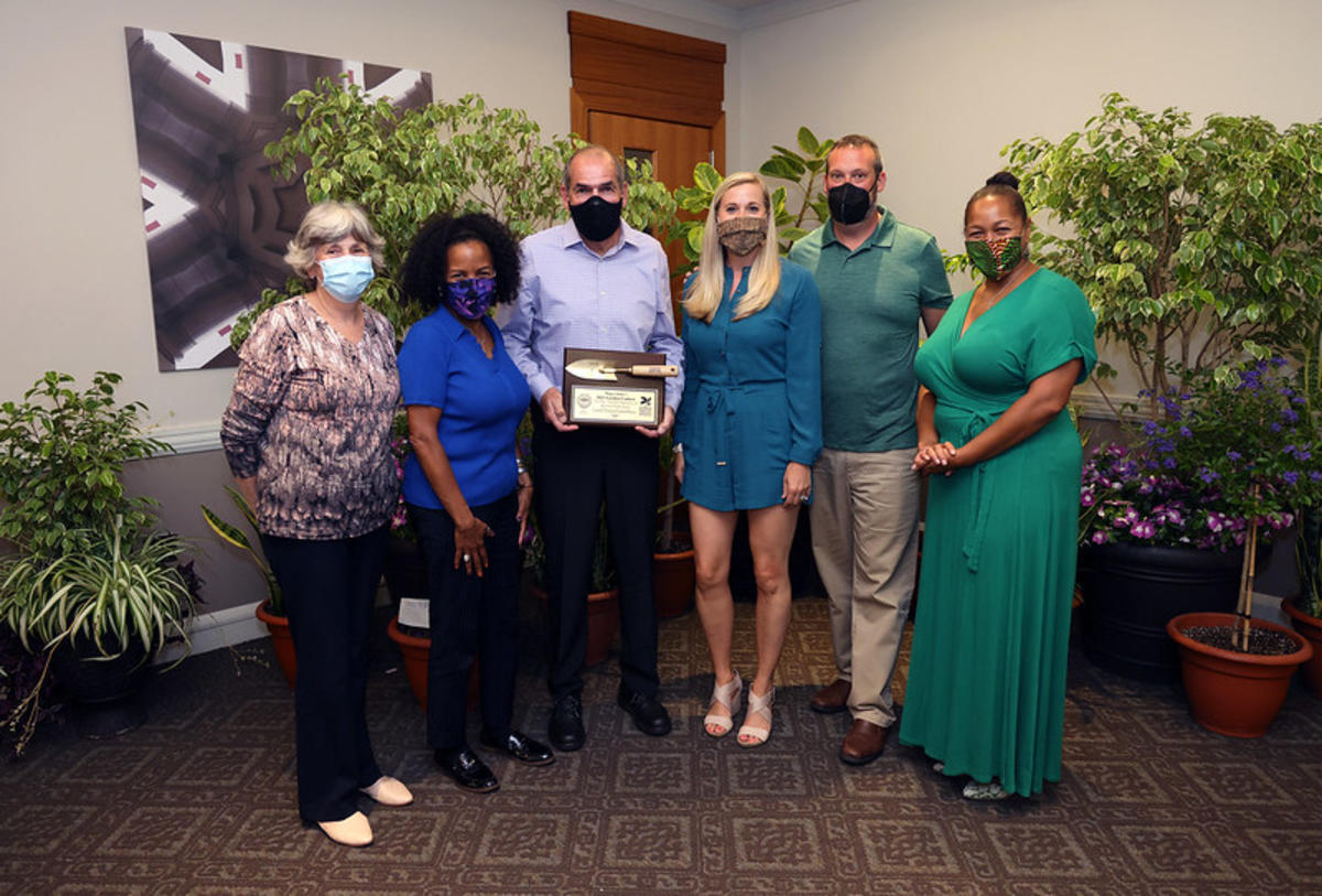 Carroll Thomas - 1st Place Main Street or Organization - Award