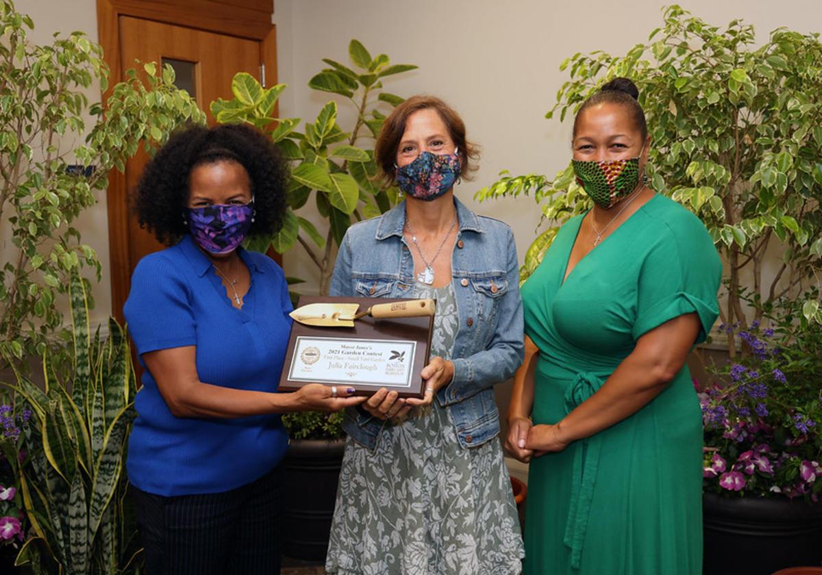 Fairclough - 1st Place Small Yard - Award