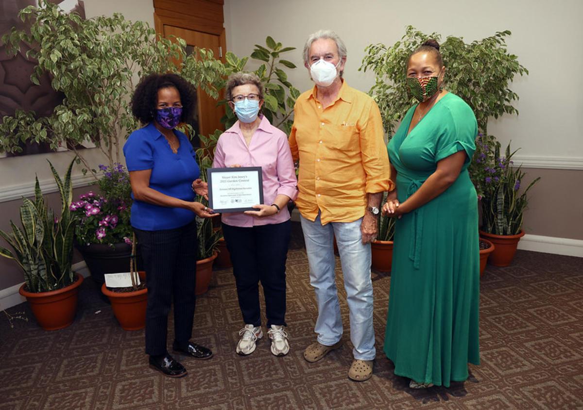 Fairmont Hill Assn - 3rd Place Organization - Award