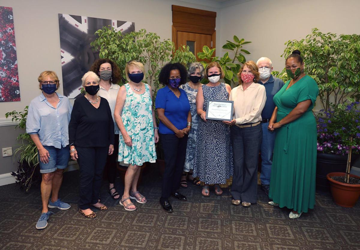 Friends of Christopher Columbus Park - 2nd Place Organization - Award