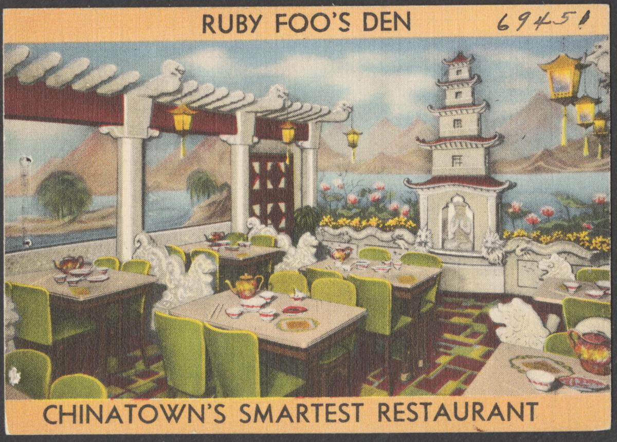 Ruby Foo's Den, Chinatown's smartest restaurant