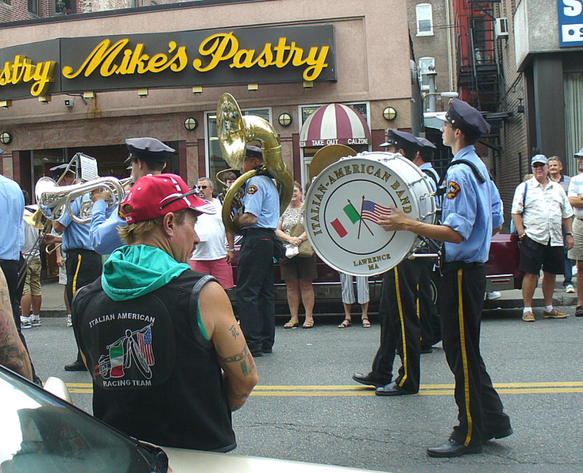 Italian-American Band at St. Anthony's Feast