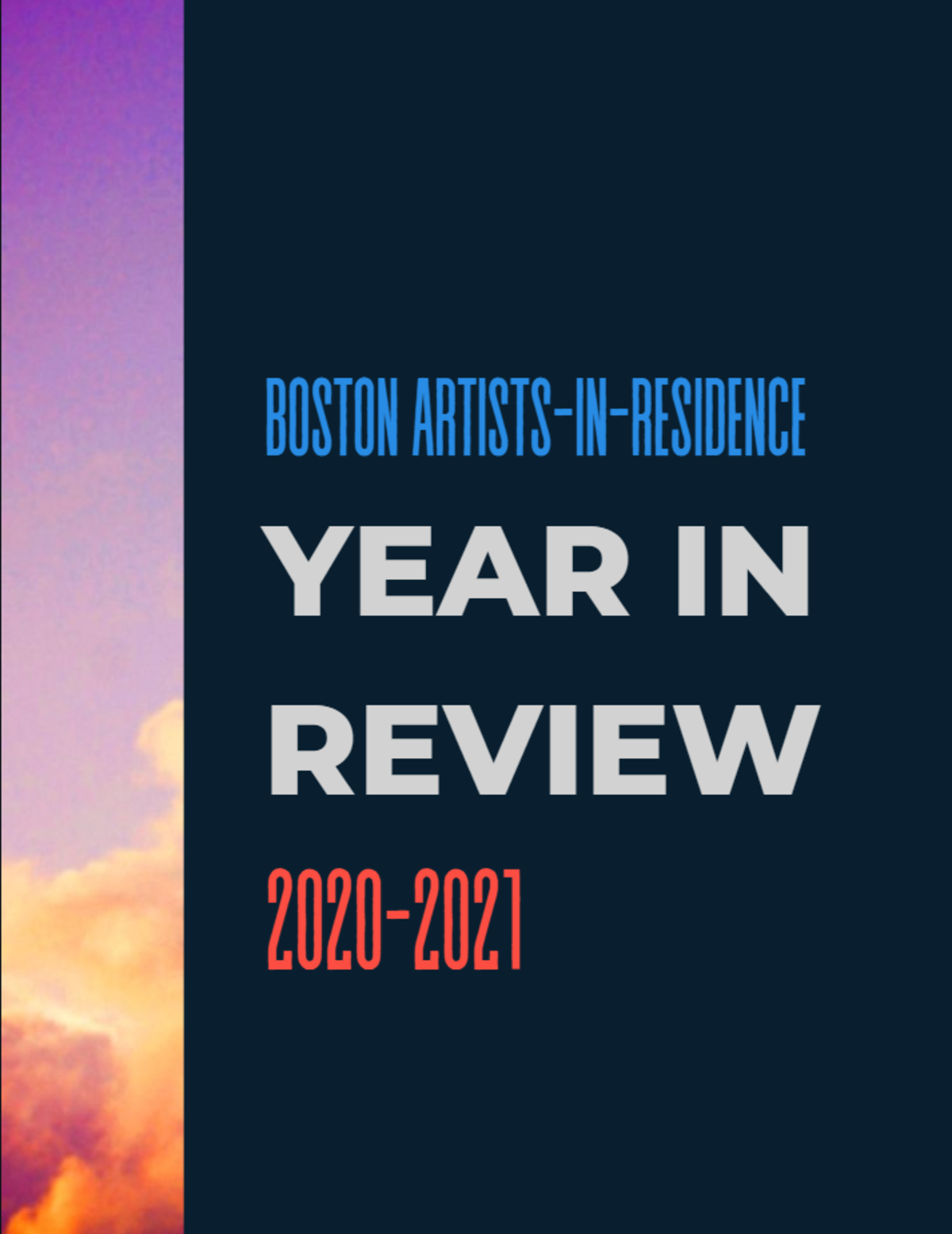 Boston AIR year in review cover