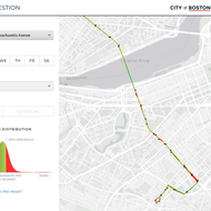 Image for city of boston bus congestion heatmap