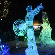 Image for ice sculptures during first night in boston