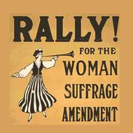 Example of suffrage poster