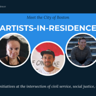 Meet the artists-in-residence graphic