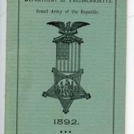 Grand Army of the Republic directory, 1892, City Council Committee records, (Collection 0140.001)