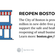 Reopen Boston Fund graphic