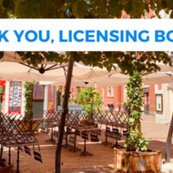 Licensing Board thank you