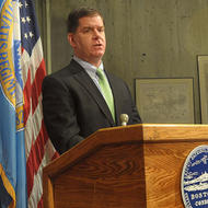 Image for mayor walsh delivers his budget presentation in 2014