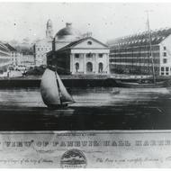 Image for rendering of faneuil hall, circa 1850