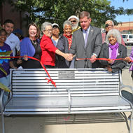 Image for age friendly bench program