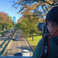 Image for taking a photo of boston over storrow drive